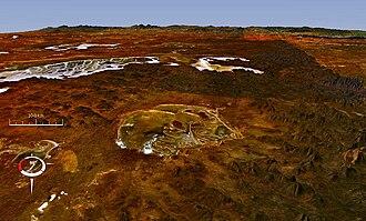 Acraman crater - Image: Acraman x 10