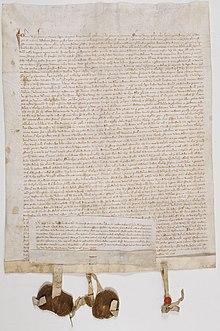 acte de fondation du collge de navarre paris donn vincennes le 25 mars 1305 par jeanne reine de france et de navarre pouse de philippe le bel - Domaine De La Navarre Mariage