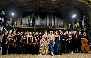 George Enescu Festival - Actorul John Malkovich pe scena Ateneului Român la ediția 2013 a Festivalului Enescu