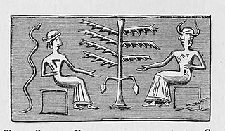 Adam and Eve cylinder seal