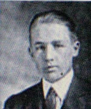 Tadeusz Adamowski - Tadeusz Adamowski while at Harvard in 1919