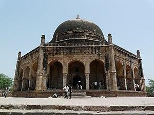 Adham Khan - Adham Khan's Tomb, which also houses the tomb of his mother, Maham Anga, Mehrauli, Delhi.