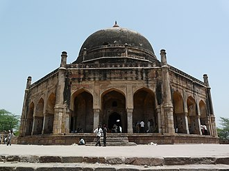 Adham Khan - Adham Khan's Tomb, which also houses the tomb of his mother, Maham Anga, Mehrauli, Delhi.