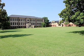 Johnston County, Oklahoma - Image: Administration with North Lawn at Murray State College