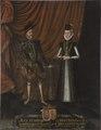 Adolf, 1526-1586, hertig av Holstein, Kristina, 1543-1604, prinsessa av Hessen-Kassel - Nationalmuseum - 15274.tif
