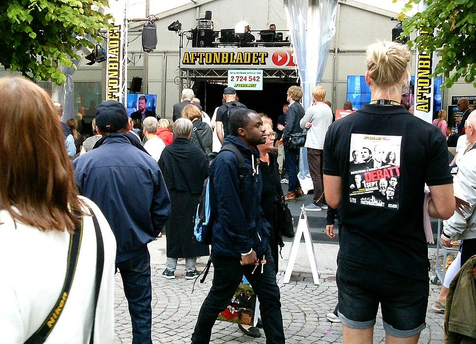 Aftonbladet p%C3%A5 Almedalsveckan 2014 Visby