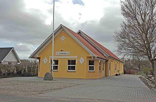 Agedrup Village in Southern Denmark, Denmark