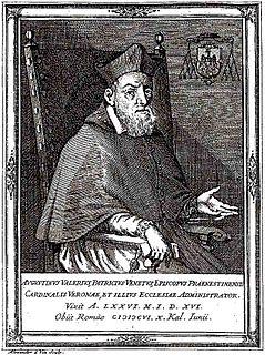 Agostino Valier 17th-century Catholic cardinal