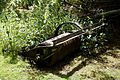 Agricultural roller in nettles Hatfield Broad Oak Essex England.jpg