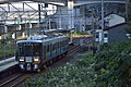Ainokaze Toyama Railway EMU521-0 at Oyashirazu Station.jpg