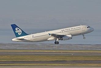 International Aero Engines - Image: Air New Zealand Airbus A320 232; ZK OJQ@AKL;11.07.2012 662aq (7840319304)