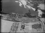 Air views of Palestine. Flight from Gaza to Cairo via Ismalieh. Ismalieh. Midway from Port Said to Suez. General view looking down on the town LOC matpc.15897.jpg