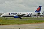 """Airbus A320-200 Onur Air (OHY) """"20th year"""" TC-OBE - MSN 471 (9878394654).jpg"""