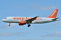 G-EZUO - A320 - EasyJet