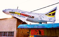 Aircraft Sculpture-Advertisment-Restaurant Jimma Ethiopia.jpg