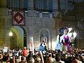 Ajuntament - Arribada de la xambanga de gegants P1160588.JPG