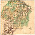 Akershus amt nr 111-2- Kroki over terrenget Dal-Eidsvoll, 1855.jpg
