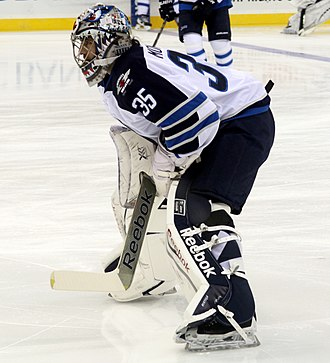 Al Montoya - Al Montoya in 2013 during his time with the Winnipeg Jets
