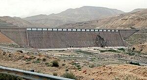Wadi Mujib - Al Mujib dam