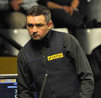 Alan McManus - German Masters 2013