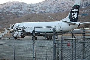 Adak Airport - Alaska Airlines at Adak Airport
