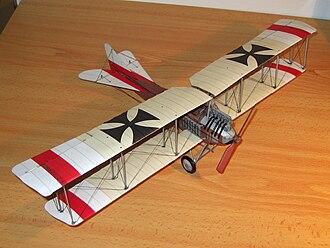 Albatros B.I - Paper model of Albatros B.I.