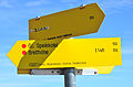 Albeck Seebachern Anstieg zum Grossen Speikkofel Wegweiser 25102013 454.jpg