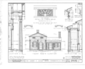 Albert F. Schug House, 29 Brown Street, Monroeville, Huron County, OH HABS OHIO,39-MONVI,1- (sheet 1 of 2).png