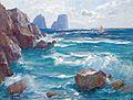 Albert Wenk Küste bei Capri.jpg