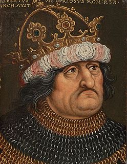 Albert I, King of the Romans 13/14th century King of Germany