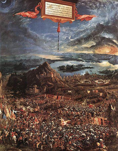 File:Albrecht Altdorfer - The Battle of Alexander - WGA0202.jpg
