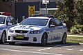Albury LAC Highway Patrol (AB 203) Holden VE Commodore SS at Wagga Wagga Police Station.jpg