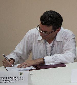 Alejandro Gaviria Uribe - Image: Alejandro Gaviria Uribe