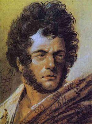 Aleksander Orłowski - Self-portrait