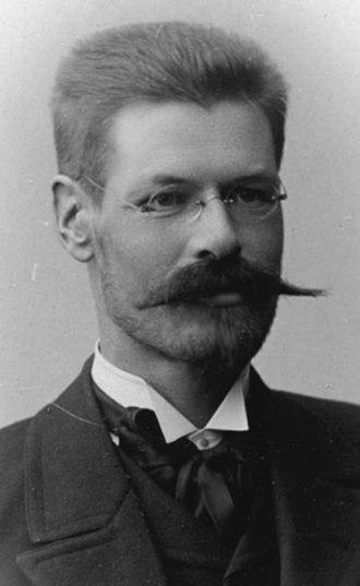 Alex Federley - Alex Federley (c.1900); from the Biografiskt Lexikon  för Finland
