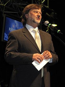 Алексей Рыбников на церемонии вручения литературной премии «Дебют» 11 декабря 2008 г.