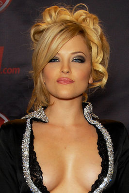 Alexis Texas op de 2010 AVN Adult Entertainment Expo in Las Vegas
