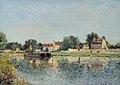 Alfred Sisley (1839-1899) - Le barrage à Saint-Mammes, France - VIS.LI.903 - Sheffield Galleries and Museums Trust.jpg