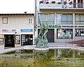 Aligi sassu, Poseidone che dona un cavallo ad Atena, 1996, 00.jpg