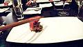Alinea Wagyu Beef, maitake, smoked date, Blis Elixir (2771963260).jpg