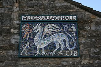 Aller, Somerset - Aller Village Hall Mosaic