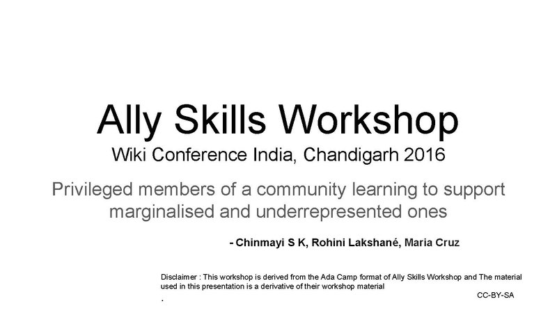 File:Ally Skills Workshop at WikiConference India 2016.pdf