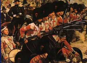 """The Coldstream Guards at the Alma"" von R.C.Woodville"