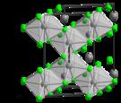 Molybdenum(III) chloride alpha polymorph