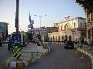 Alsancak railway station - İzmir Alsancak Terminal in 2015.