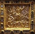 Altare di s. ambrogio, 824-859 ca., fronte dei maestri delle storie di cristo, 12 resurrezione.jpg