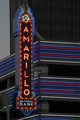 Although this looks for all the world like a theater marquee, it is instead an unusually bold neon sign for a bank in Amarillo, Texas LCCN2014633660.tif