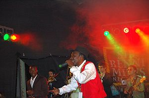 Alton Ellis performing live in 2007