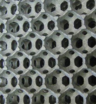 Metal foam - Regular foamed aluminium