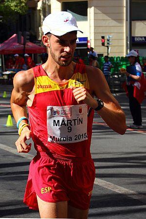 Álvaro Martín - Martín at the 2015 European Cup Race Walking